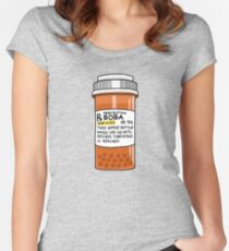 Boba Pills Fitted Scoop T-Shirt