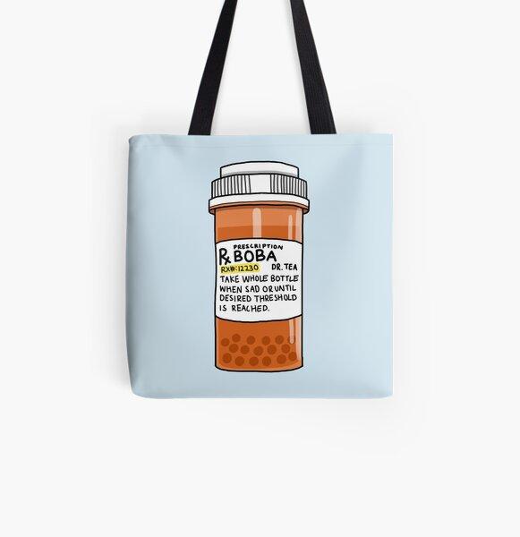 Boba Pills All Over Print Tote Bag