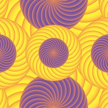 Psychedelic abstract digital illustration by mcb-jp