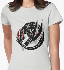 cool black hunt Women's Fitted T-Shirt