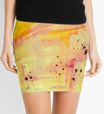 Sketchwork Mini Skirt