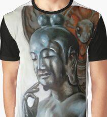 Buddhism sculpture Graphic T-Shirt