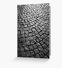 Cobbles Greeting Card