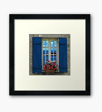 Surreal windows Framed Print