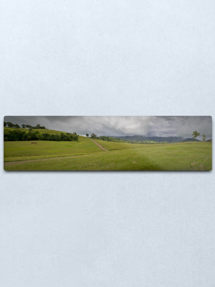 Alternate view of Green Hills Metal Print