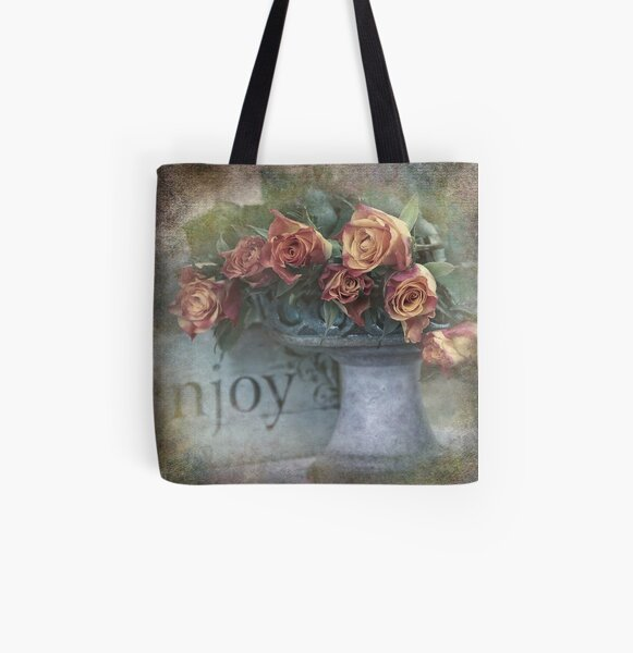 Enjoy roses All Over Print Tote Bag