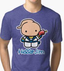 Hello Jim Tri-blend T-Shirt