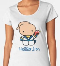 Hello Jim Women's Premium T-Shirt
