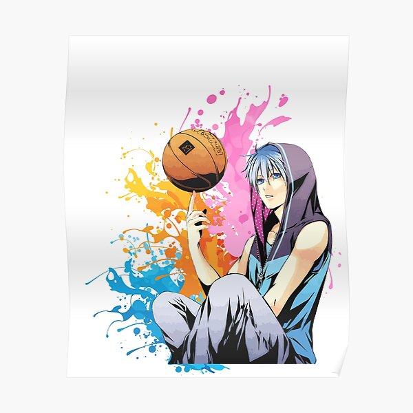 Kuroko no Basket - Colourful Splash Poster