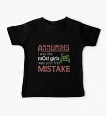 assuming I was like most girls was your first mistake jeep t-shirts Baby Tee