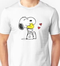 Snoopy And Woodstock A Hug Unisex T-Shirt