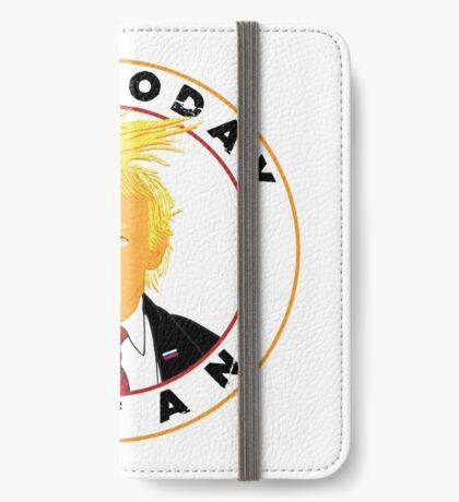 Not Today Satan Trump iPhone Wallet