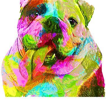 I Love My English Bulldog, Pet Lovers by loveteens