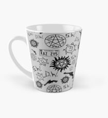 Supernatural Symbols Tall Mug