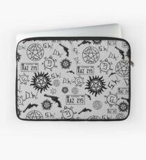 Supernatural Symbols Laptop Sleeve
