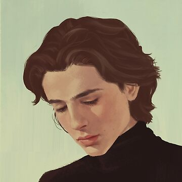 Illustration-Timothée Chalamet by Sirayy