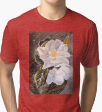 WHITE MAGNOLIA by H.Lin Tri-blend T-Shirt