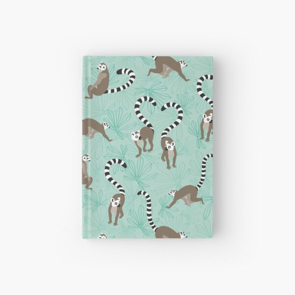 lemur love Hardcover Journal