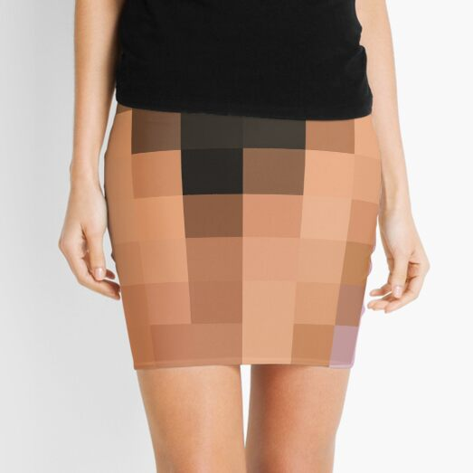 Pattern, design, tracery, weave, drawing, figure, picture, illustration Mini Skirt