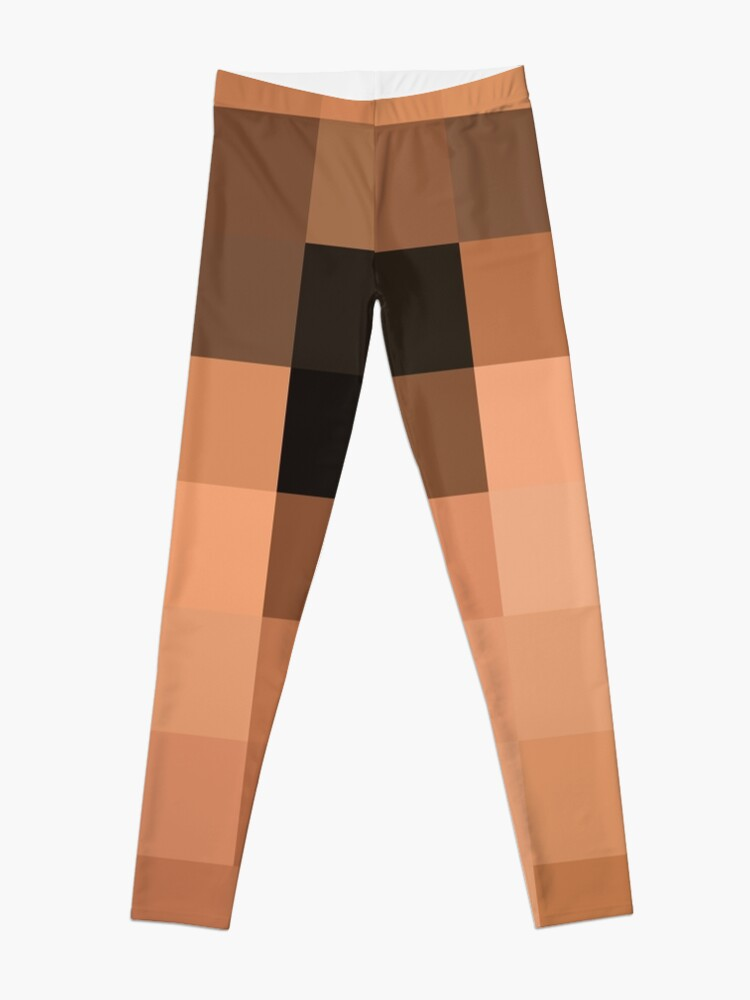 Alternate view of Pattern, design, tracery, weave, drawing, figure, picture, illustration Leggings