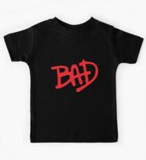 Bad Black Mj Michael Jackson Fit Gym Crossfit Workout All Sizes Gym T-Shirts Kids Tee