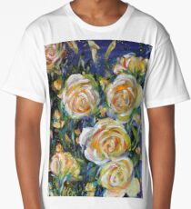 LET LIFE BE LOVABLE LIKE YELLOW ROSES Long T-Shirt