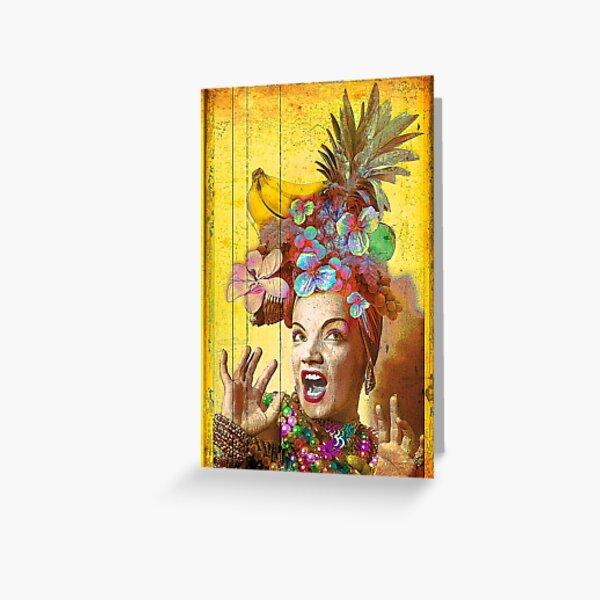 Tropical Miranda Greeting Card