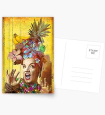 Tropical Miranda Postcards