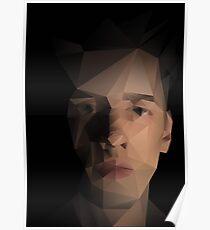 Moody Self-Portrait Poster