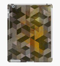 Patron marron iPad Case/Skin