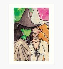 Wickitita - Wicked meets Mamma Mia! Art Print