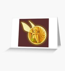 Inside the golden snitch Greeting Card