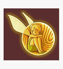 Inside the golden snitch Photographic Print