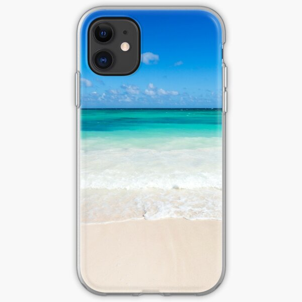 Beach waves iPhone Soft Case