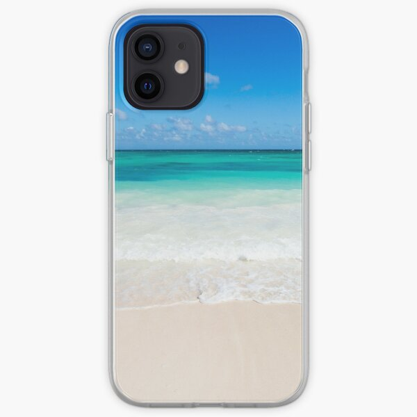 Beach waves iPhone Soft Case