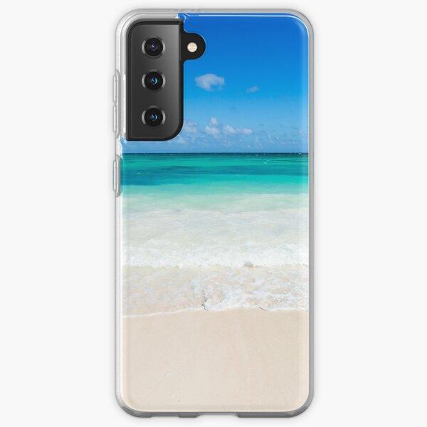 Beach waves Samsung Galaxy Soft Case