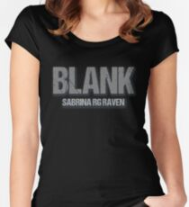 Blank 2 Women's Fitted Scoop T-Shirt