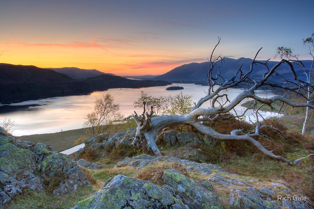 Derwent Water from Gouder Crag by Rich Gale
