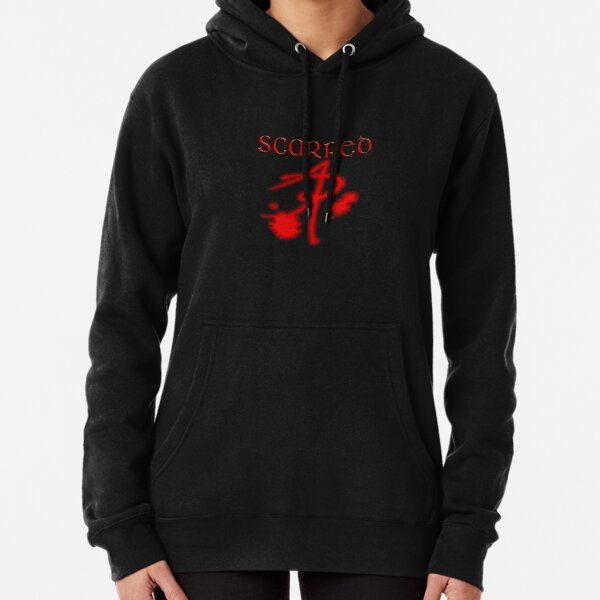 Scarred Pullover Hoodie