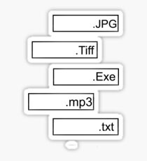FORMAT CODING Sticker