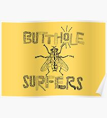Butthole Surfers Fly (schwarz) Poster