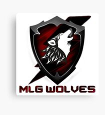 MLG Wolves Canvas Print
