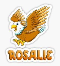 Rosalie Eagle Sticker Sticker