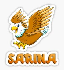 Sarina Eagle Sticker Sticker
