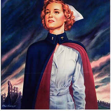 """Nurses are needed now. Army Nurse Corps."" by Lueshis"