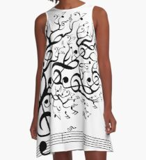 The Sound of Nature In Motion A-Line Dress