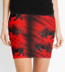RED BULLS  Mini Skirt