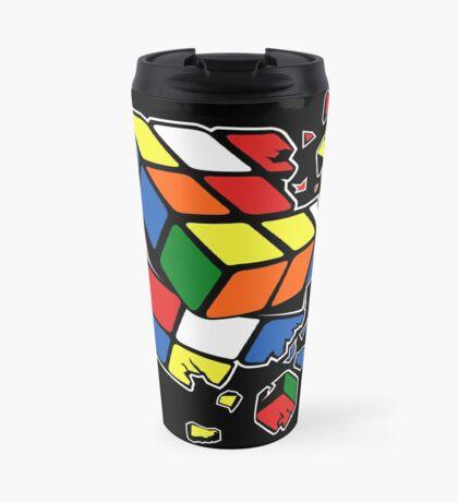 Exploding Cube Travel Mug