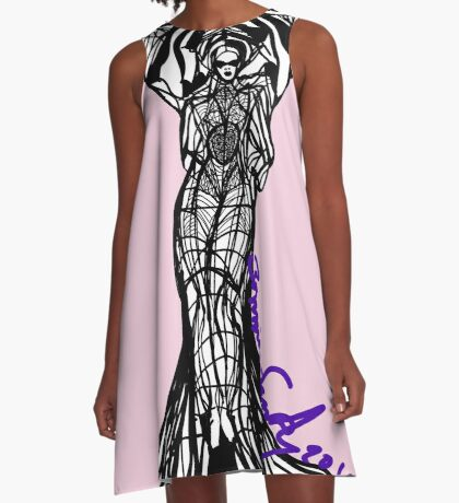 Woman Within5 A-Line Dress