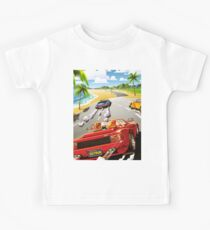 OUT RUN - CLASSIC FLYER Kids Tee